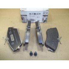 """Колодки тормозные передние невентилируемые 15"""" VAG 701698151J"""