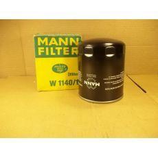 Фильтр масляный на CP Mann W1140/1