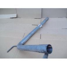 Труба глушителя гнутая ASSO 58.3002