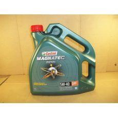 Моторное масло Magnatec Diesel 4L синтетическое Castrol 5W40