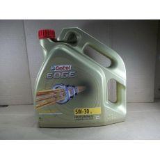 Моторное масло EDGE 5W30 4L синтетическое Castrol