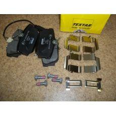 Колодки тормозные задние дисковые R15 с дат. Textar 2322416