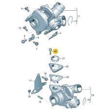 Болт на турбину Фольксваген Т5 VAG N91120901