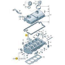 Болт распредвала Фольксваген Т5 VAG 038103714G