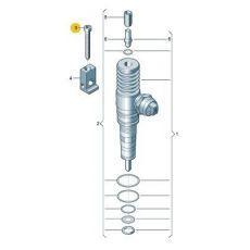 Болт топливной форсунки М6х64 1.9 VAG 038103385A