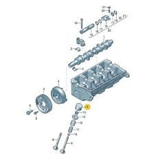 Гидрокомпенсатор черный INA 420020910