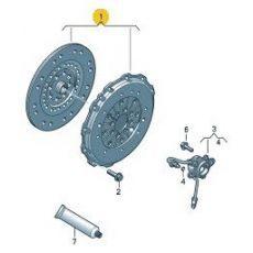 Комплект сцепления Фольксваген Т5 AXE LUK 624317809