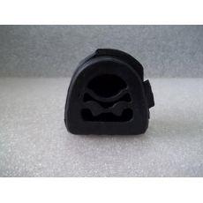 Труба глушителя резинка Hans Pries 400230685
