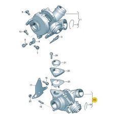 Турбина BNZ Garrett 760698-5004S
