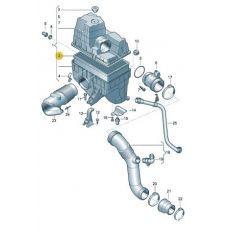 Фильтр воздушный VW T5 04.03 MANN C32191