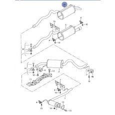 Глушитель  4-я часть   ACV,AJT   Polmostrow 30.239