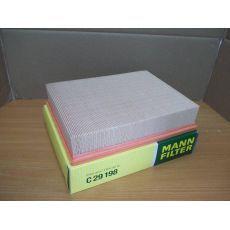 Фильтр воздушный квадратный   08`95->> MANN C29198