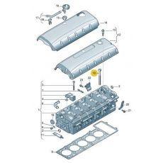 Болт Фольксваген Т5 ГБЦ  комплект 2.5 TDI     Elring 326.430