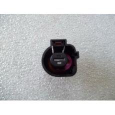 Корпус плоского разъема полукруглый 1 контакт  VAG 1K0973751