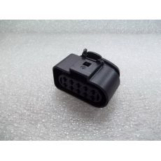 Корпус плоского разъема полукруглый 10 контактов насос ТНВД VAG 6R0973735