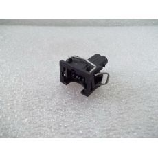 Корпус плоского разъема квадратный 2 контакта 1 направляющая VAG 037906240