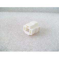 Корпус плоского разъема 3 контакта для фары VAG 161941165