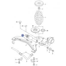 Амортизатор задний газомасляный Boge 32-D73-0