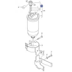 Клапан обратки Bosch 1457414021