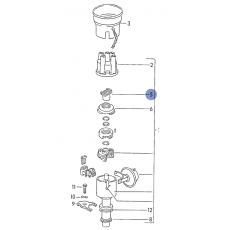 Бегунок (простой) большое отверстие мотор DJ DG ( PD; CH,CL) Beru EVL085