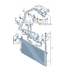 Датчик давления кондиционера VAG 1K0959126D