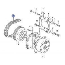 Ремень генератора Contitech AVX13x1330