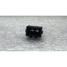 Корпус плоского разъема квадратный 2 контакта ответная часть VAG 357972762