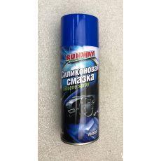 Cмазка силиконовая для резиновых уплотнителей аэрозоль 400 мл RUNWAY RW6085