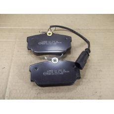 Колодки тормозные задние дисковые R16 с датч. Breck 232240070210