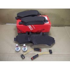 Колодки тормозные задние 3.0т-3.5т TRW GDB1697