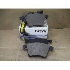 Колодки тормозные передние вентилируемый R16 98 Breck 23034 00 703 10