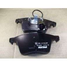 Колодки тормозные передние Фольксваген Т5 R16 с датчиком Textar 2374602