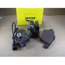 Колодки тормозные передние Фольксваген Т5 R17 с датчиком Textar 2374601