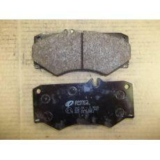 Колодки тормозные передние 4x4 Remsa 047.30