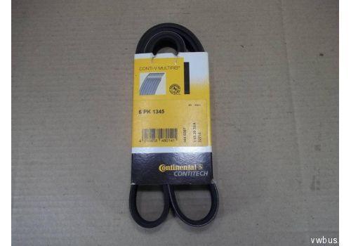 Ремень генератора (с ГУР) 92-95 Contitech 6PK1345