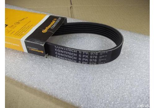 Ремень поликлиновой с кондиционером Contitech 6PK976