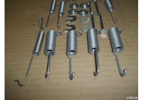 Тормоз задний комплект пружин TRW SFK60