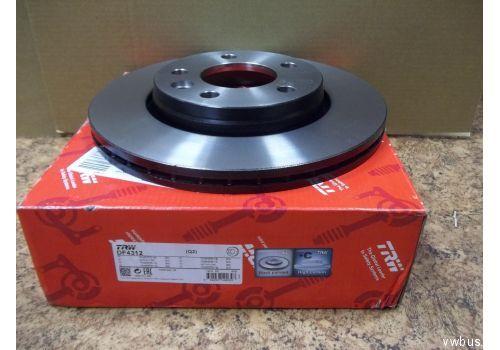 Диск тормозной задний Т5 Тормозные диски TRW DF4312