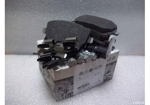 Колодки тормозные задние Фольксваген Т5 R16 с датчиком VAG 7H0698451
