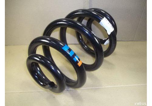 Пружина задняя метки: 3 синие 1 оранжевая VAG 7E0511115K