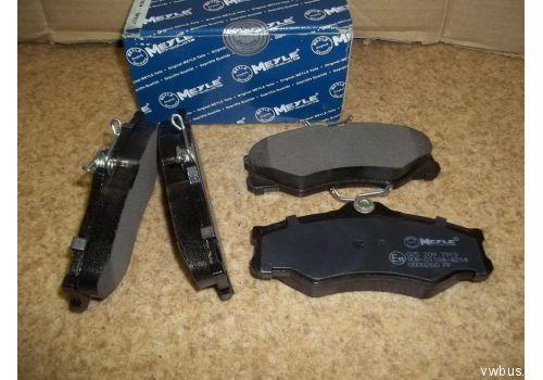 Колодки тормозные передние 86- 91г. Meyle 0252097919