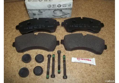 Колодки тормозные передние 5.0т VAG 2E0698151A