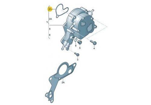 Вакуумный насос прокладка 2,5 Фольксваген Т5 VAG 070145215