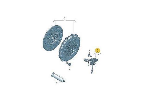Выжимной подшипник гидравлический LUK 510017710