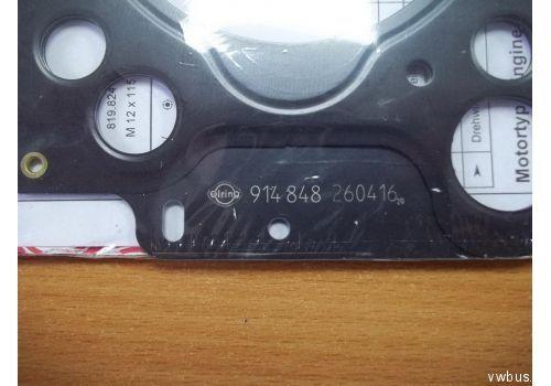 Прокладка головки блока 1X,ABL 1 Elring 914.848