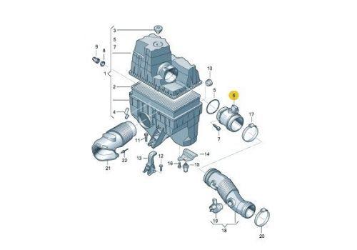 Расходомер воздуха MAPCO 42804