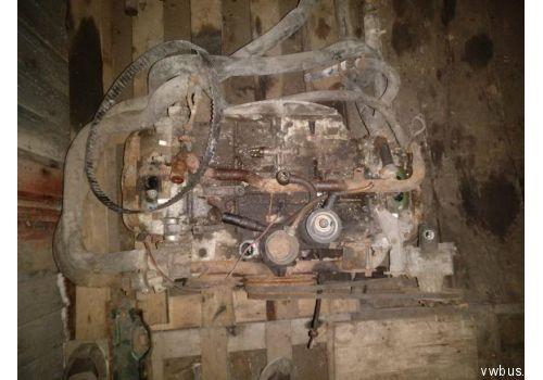 Двигатель 1.9 без обвеса VAG 025100031BX Б/У