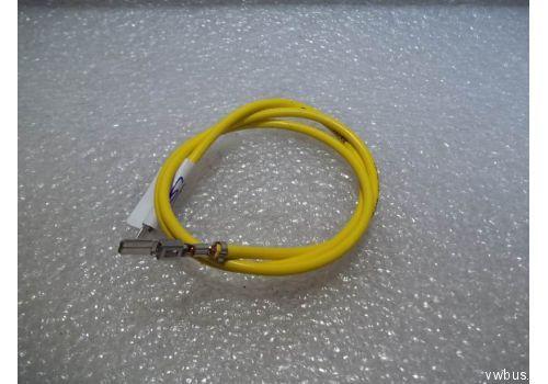 Корпус плоского разъема провод с 2 контантактоми 4 QMM 4,8MM VAG 000979302E