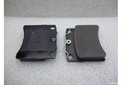"""Колодки тормозные передние вентилируемые квадратные 15"""" Patron PBP722"""