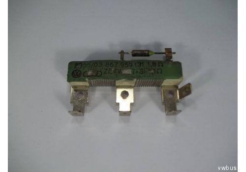 Резистор на печку заднюю двойная кабина VAG 867959131